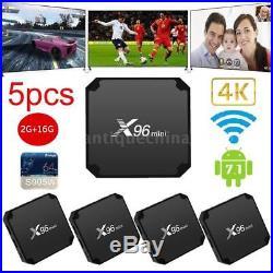 X96 Mini Android 7.1 Smart TV Box Amlogic S905W 1G+8G Quad Core 4K Media Player