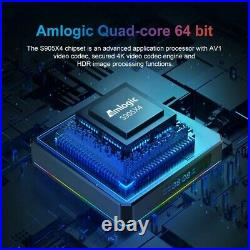 X96 X4 Amlogic S905X4 Quad Core Android 11 4GB RAM 64GB ROM TV BOX