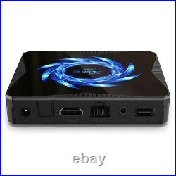 X96Q Max Android 10.0 4K TV Box 4+32/64G Quad Core HD Media Player Dual WIFI