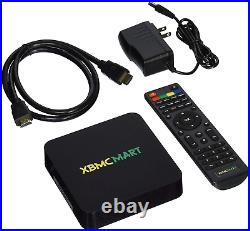XBMCMart Smart Android TV Box Player Quad CORE 64 BIT 4K