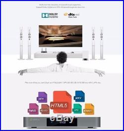ZIDOO X9S Android 6.0+OpenWRT Realtek Quad Core 16G WiFi BT 4K Smart TV Box FZC